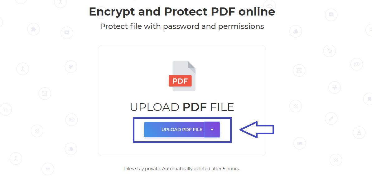 Zręczny PDF_ encrypt files