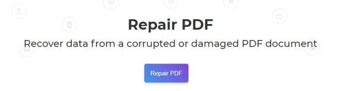 Deftpdf repair tool