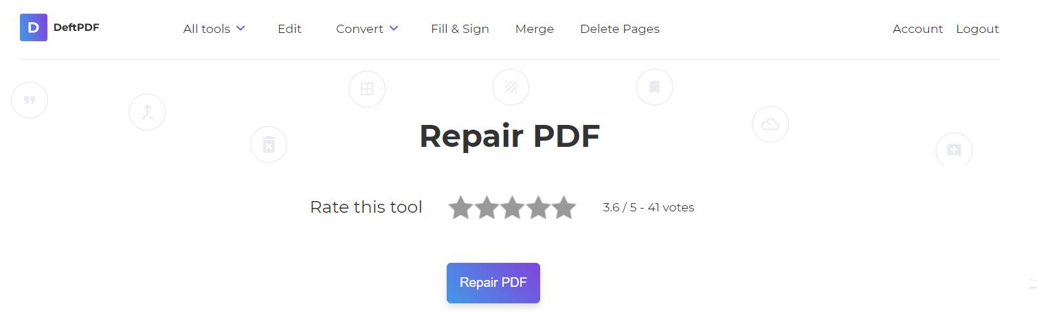 repair and download