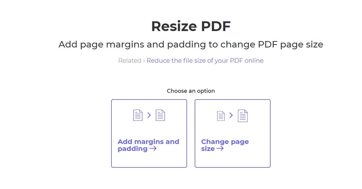 replace paper or add margin
