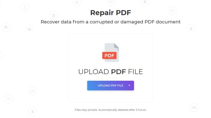 repair corrupted pdf