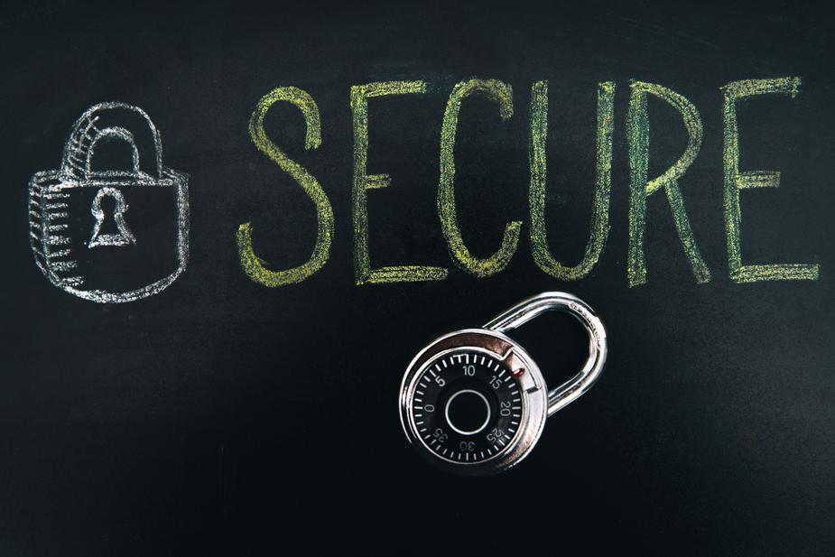 secure PDF file
