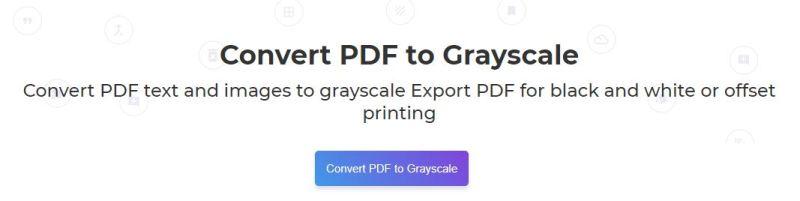Deftpdf convert to grayscale