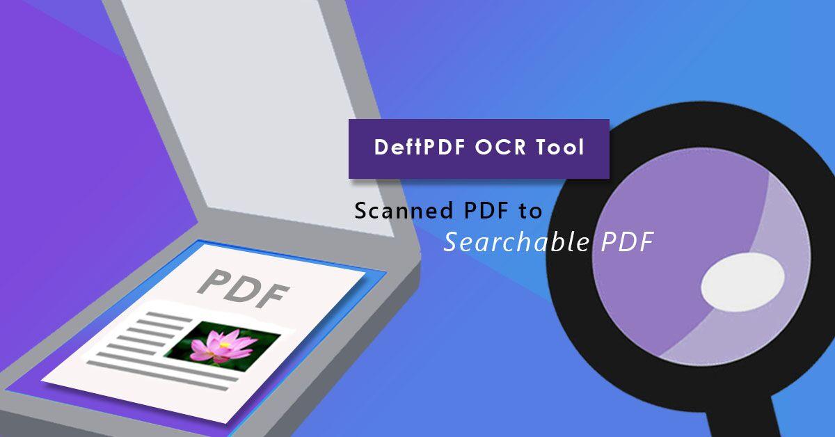 DeftPDF OCR tool