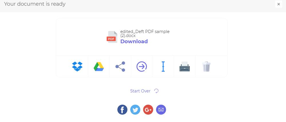 DeftPDF_Save processing