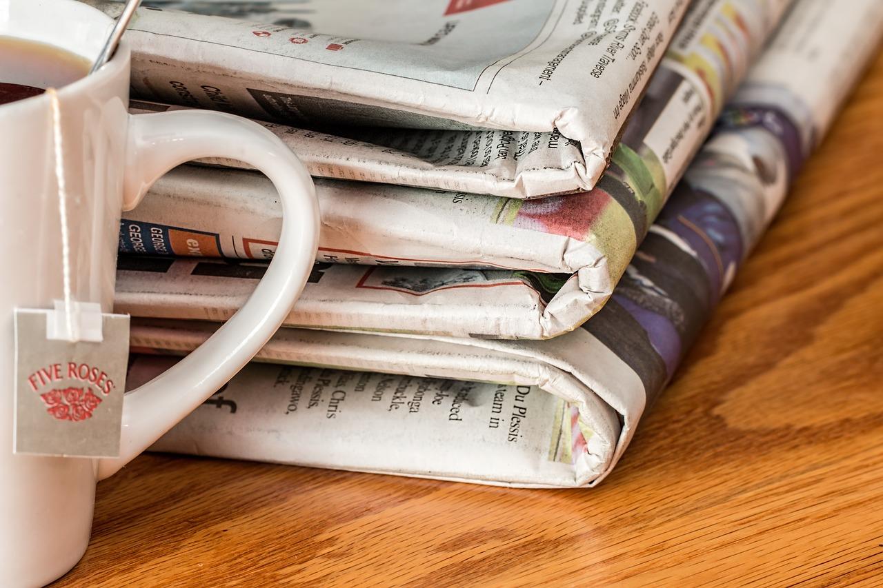 GSM newspaper sample