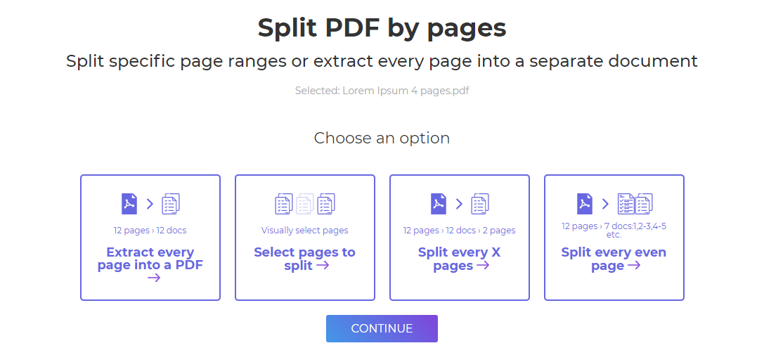DeftPDF_ split pdf pages