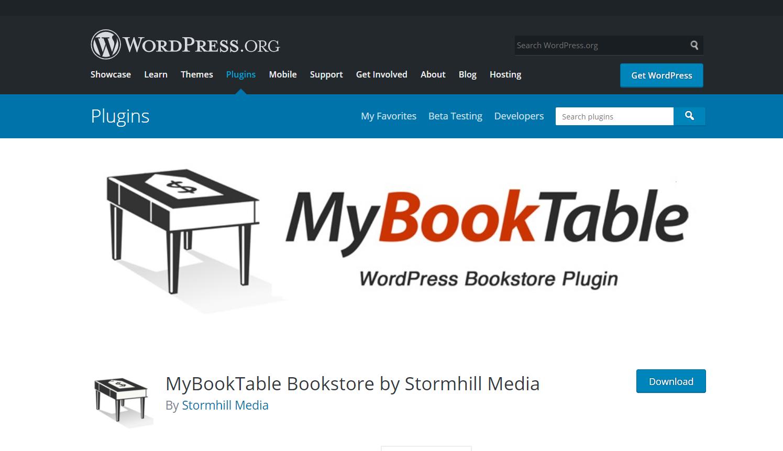 mybooktable plugin wordpress