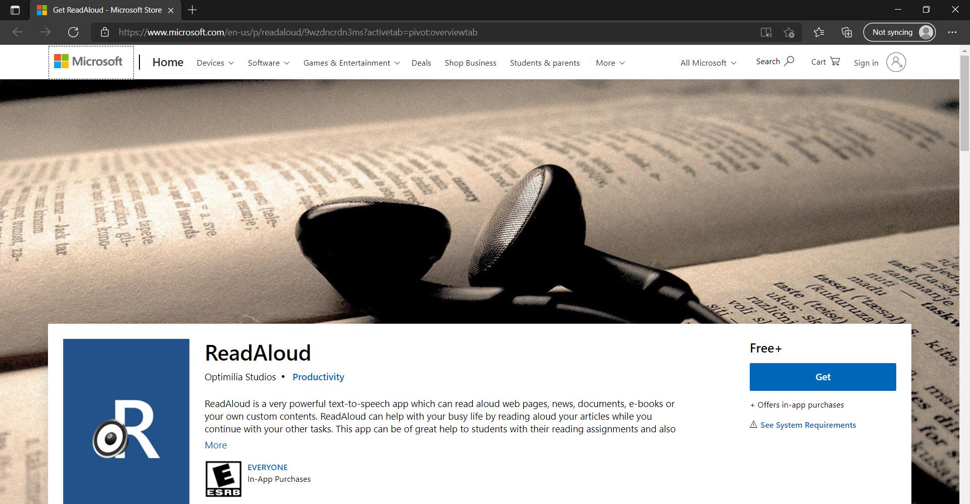 read aloud free for windows