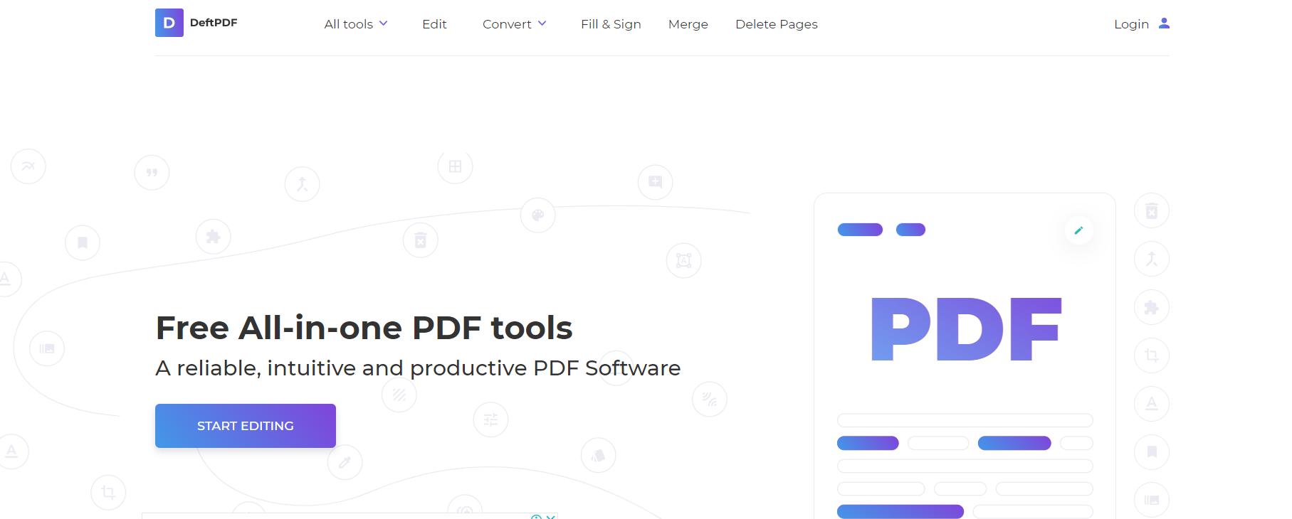 DeftPDF reader