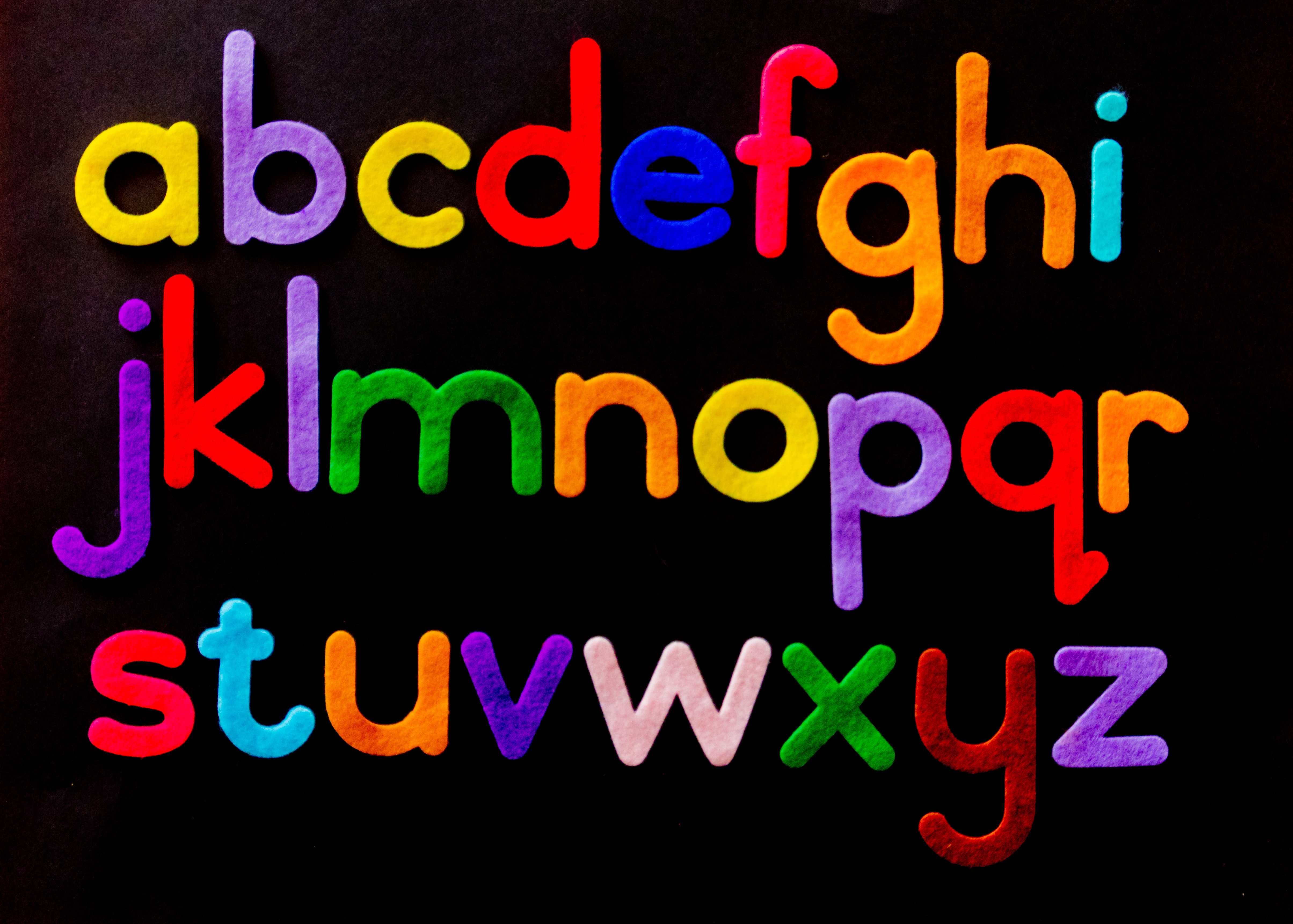 fonts are easy to read by the computer such as this alphabet's font
