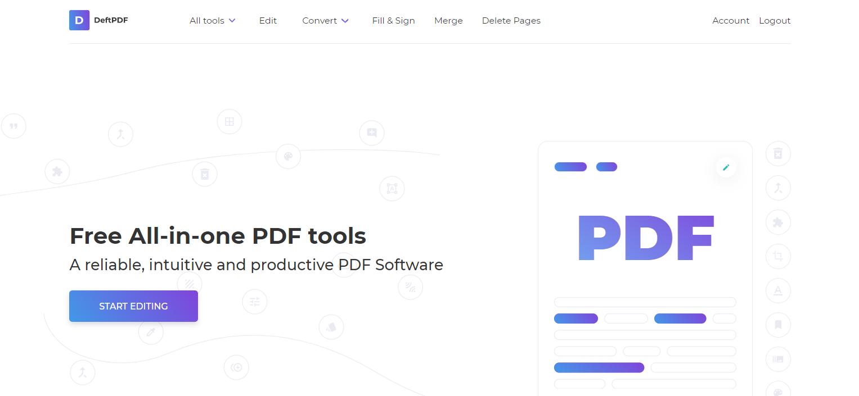 deftpdf tools