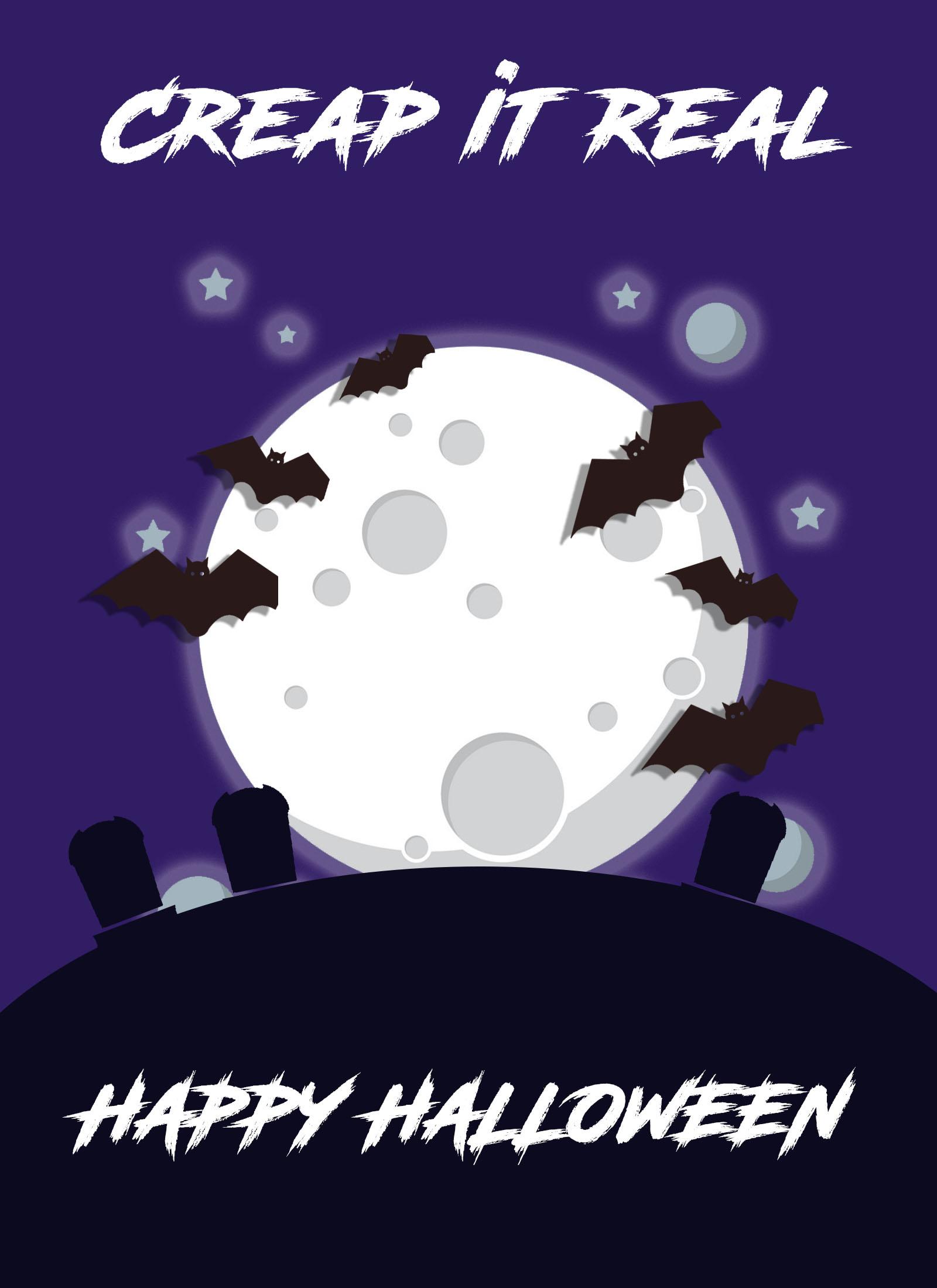 creap it real halloween ecard