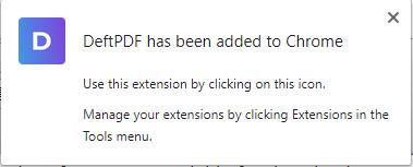 DeftPDF extension added