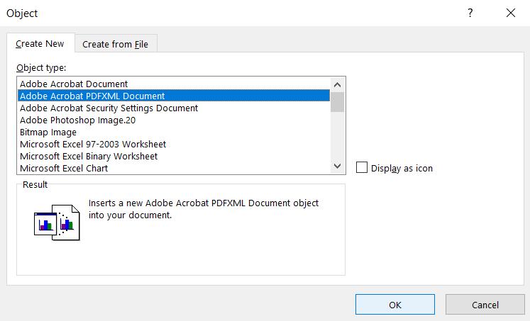 Select PDF document