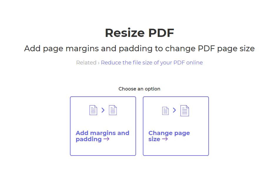 margins and paddings on pdf