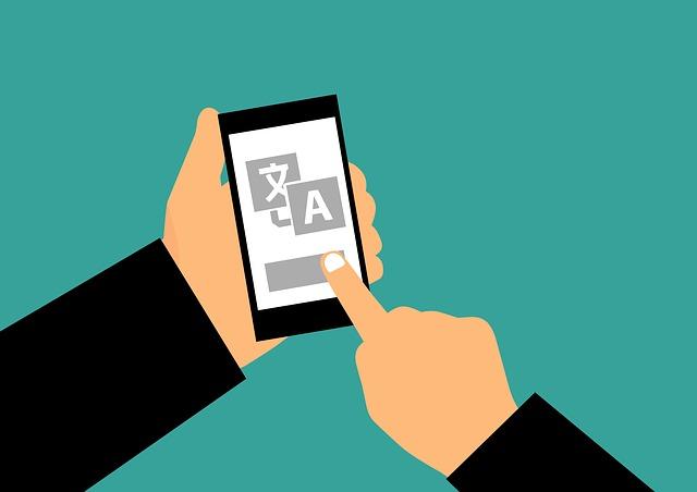 translating using mobile app